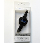 TERA GRAND 3FT RETRACTABLE LIGHNING CABLE