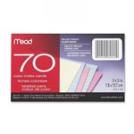 COLORED INDEX CARDS 3X5 100PK
