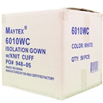 RQ DISPOSABLE GOWN BOX 6010BC