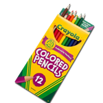 COLORED PENCILS A30300 LONG 12 PK CRAYOL