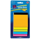 AVERY STEPS STICKY NOTES PAD ASSORTED BR