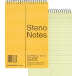 REDIFORM STENO NOTEBOOK 6X9 80 SHEETS