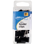 SWINGLINE BINDER CLIPS QTY 15 ASSORTED S