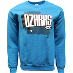 ANTIQUE SAPHIRE CREWNECK SWEATSHIRT
