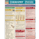 Barcharts: Chemistry, Equations & Answers