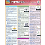 Barcharts: Physics Terminology