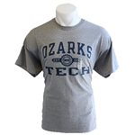 GO TO OTC TEE WITH NAVY LOGO IN GREY