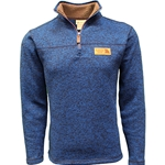 1/4 Zip Deep Azure