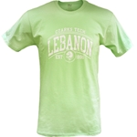 Ringspun Offsite Tee Lebanon in Key Lime