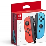 Nintendo Switch Joy-Con Controllers - Red/Blue Neon