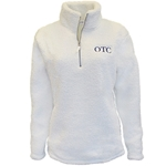 Ladies Sherpa 1/2 Zip w/ OTC Logo
