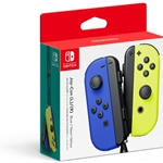 Nintendo Switch Joy-Con Controllers - Blue / Neon Yellow
