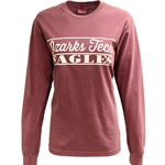 Berry Long Sleeve Tee w/ Ozarks Tech Logo