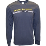 Navy Long Sleeve w/ Gold & White OTC