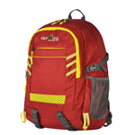 Olympia Huntsman Backpack - Red/Yellow