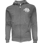 Full Zip Hood in Charcoal Heather