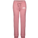 Ladies Orchid Ice Angel Fleece Sweatpant