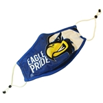 Eagle Pride Mask w/ Replaceable Filter Pocket - Small/Medium