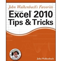 JOHN WALKENBACH FAVORITE EXCEL 201 TIPS AND TRICKS