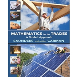 BUNDLE (2) MATHEMATICS FOR THE TRADES: A GUIDE APPROACH + MYMATHLAB ACCESS CARD