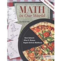 MATH IN OUR WORLD: MEDIA UPD