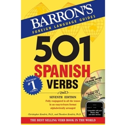 501 SPANISH VERBS (W/2 CD'S)