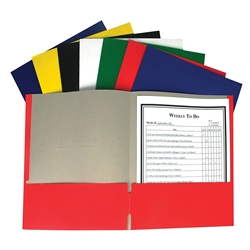 C-LINE RECYCLED PAPER POCKET FOLDER
