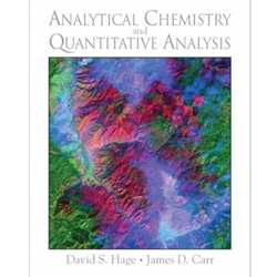 ANALYTICAL CHEMISTRY & QUANTITATIVE ANALYSIS