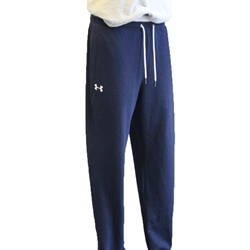MENS NAVY TRIBLEND FLEECE JOGGER