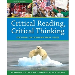 CRITICAL READING CRITICAL THINKING (W/NEWMYREADINGLAB) (P)