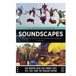 BUNDLE (2) SOUNDSCAPES : EXPLORING MUSIC IN A CHANGING WORLD TEXT + TOTAL ACCESS