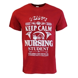 Keep Calm Nursing Tee