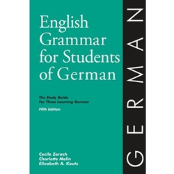 ENGLISH GRAMMAR FOR STUDENTS OF GERMAN (P)