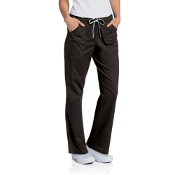 Women's ASN/Dental Black Scrub Pant
