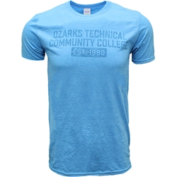 Blue Galapagos Clear Ink Tee