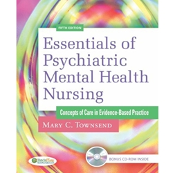 ESSEN OF PSYCH/MENTAL HEALTH NURSING (W/CD) (P)
