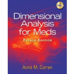 DIMENSIONAL ANALYSIS FOR MEDS (W/CD) (P)