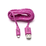 5 Ft Micro Usb Cable Pink