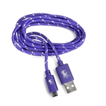 5 Ft Micro Usb Cable Purple