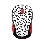Wireless Mouse Zig Zag Red